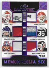 17/18 Ultimate Purple Belfour Osgood Hasek Brodeur 6 Piece Prime Patch #4/5