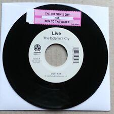 "LIVE The Dolphin's Cry 45 7"" POP ROCK Record Vinyl 1999 Radioactive Records"