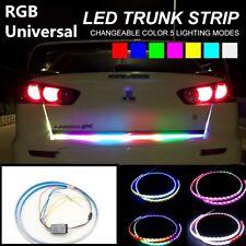 """47"""" Car Rear Trunk Strip Reversing Back-up Double Flash Light RGB LED Tailgate"""