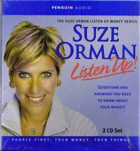 Listen Up! by Suze Orman (CD, 2 Disc Set, 2004) Brand New
