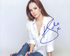 Ksenia Solo signed authentic 8x10 photo COA