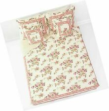 DaDa Bedding DXJ103136 French Country Cotton 5-Piece Quilt Set Queen Floral