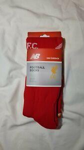 New Balance Liverpool Football Club LFC Over The Calf Soccer Socks Size 7-9