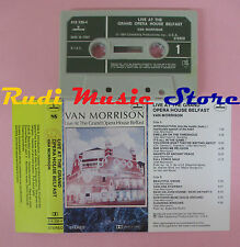 MC VAN MORRISON Live at the grand opera house belfast 1984 italy cd lp dvd vhs