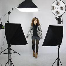 """Clkit 17 Studio Softbox Boom De Iluminación continua de video 20""""x 28"""" Kit De Soporte NUEVO"""