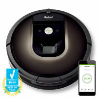 iRobot Roomba 980 App-Controlled Self-Charging Vacuum with Wi-Fi Bundles