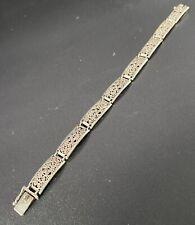 835 Silber Armband Altes Silberarmband