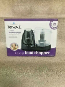 Rival 1.5-cup Food Chopper-NEW