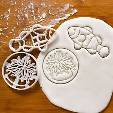 Sea Anemone and Clownfish cookie cutters - under the sea ocean nautical party