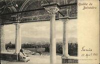 Tunis Tunesien Afrika AK 1905 Koubba du Belvédère Tracht Ethnic Einheimischer