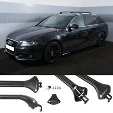 Barre Portapacchi per Audi A4 B8 B9 Avant SW 08- profili integrati Alu nero