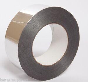 Quality Silver Aluminum Tape Foil Insulation Self Adhesive Repair - 48mm x 45m