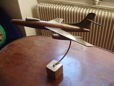 ancienne maquette d'avion sur socle . belle patine