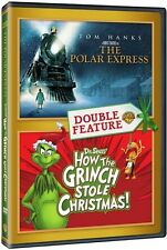 Polar Express / How The Grinch Stole Christmas - 2 DISC (2016, REGION 1 DVD New)