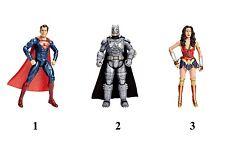 BATMAN V SUPERMAN PACCHETTO WONDER WOMAN,BATMAN,SUPERMAN DHY32 DC COMICS MATTEL
