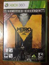 Metro: Last Light Limited Edition (Microsoft Xbox 360, 2013)KOREA