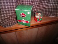 RARE 2012 JCPENNY MICKEY MOUSE SNOW GLOBE BOUGHT BLACK FRIDAY !