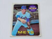 1969 TOPPS NOLAN RYAN # 533 Mets HOF GOOD 2nd yr