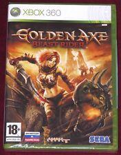 XBOX 360 - GOLDEN AXE BEAST RIDER! BRAND NEW/SEALED! RUSSIAN VER. VERY RARE SEGA