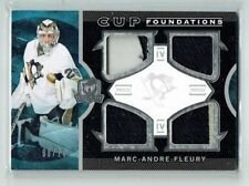 12-13 UD The Cup Foundations  Marc-Andre Fleury  /10  Quad Patches  All-Star