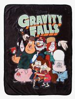 "Disney Gravity Falls Group Super Soft Plush Throw Blanket 45"" X 60"""