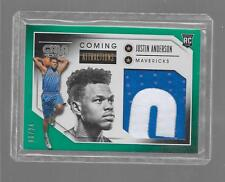 2016-17 Gala - JUSTIN ANDERSON - Letter Patch Rookie - MAVERICKS #d 08/24