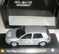 RARE MINICHAMPS VW GOLF GTI MK 4 SILVER METALLIC SPECIAL SHELL PROMO 1:43 1/500