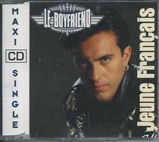 LE BOYFRIEND - Jeune Francais CD SINGLE 4TR French Europop 1991 (ARS) BELGIUM