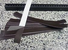 0,5mm x 620mm x 500mm Magnetband 1 Stück Magnetfolie roh selbstklebend