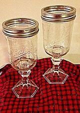 Redneck Hillbilly Wine glass mason ball jars Toasting glass