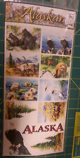 Alaska Scrap book Stickers Alaska Wildlife, bear, bald eagle, caribou, otters...