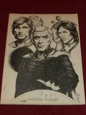 Fantasy Flight fanzine (1981) Star Wars & Battlestar Galactica science fiction