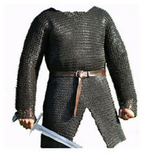 Stainless Steel Chain Mail Large Half Sleeve Full Flat Riveted A2
