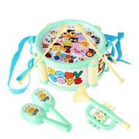 6Pcs/Sets Toddler Baby Developmental Educational Toys Drum Rattles Instruments