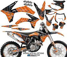 2008 2009 2010 2011 KTM EXC EXCF 125 250 300 450 530 GRAPHICS KIT DECO DECALS