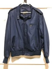 Vintage 1980s Members Only Mens size 1X Xl Navy Racer Jacket Windbreaker