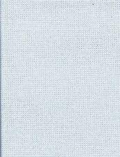 Fat Quarter 28 Count Ice Blue Evenweave Cross Stitch Fabric - 50cm x 55cm