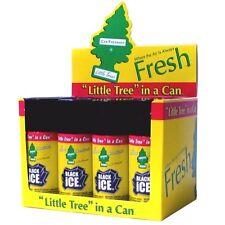 Little Trees Car Home Air & Car Freshener 8 Bottles Spray 2.5oz Black Ice scent