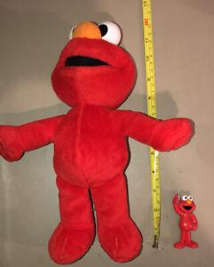 """Fisher Price Sesame Street Singing Talking 20"""" Elmo Mattel 2001"""