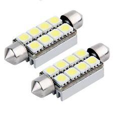 2 x Auto Leuchte 8 SMD LED Innenbirne Lampe Licht 43 mm  ET