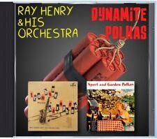 MZ 167 - Ray Henry & His Orchestra - Dynamite Polkas -  POLKA CD