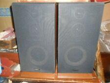 Pair of Vintage Fisher Stv-410M 3 Way 60 Watt Floor Speakers