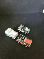 Galoob Micro Machines 80s Chevy Blazer Lot Of 3