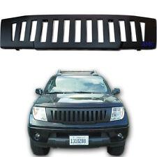 Fit 05-13 Nissan D40 Navara Front Grille Abs Black Pickup Truck Hammer H1 Black