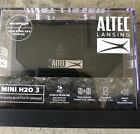Altec Lansing Mini H20 3 Bluetooth Speaker Black IMW259-BLK