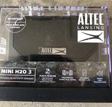 Altec Lansing Mini H20 3 Bluetooth Speaker Black IMW259-BLK