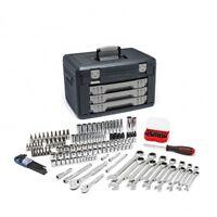 Gearwrench 80943 0.25 & 0.37 in. Drive Metric Mechanics Hand Tool Set 168 Piece