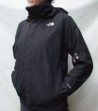 THE NORTH FACE HYVENT HOODED Black  Rain Jacket Size Medium