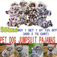 Pet Dog Jumpsuit Pajamas Hoodie Puppy Cat Jumper Warm Clothing Costume Cosplay❤