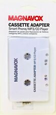 1 Count Magnavox Cassette Adapter Smart Phone Mp3 Cd Player Connects To Deck